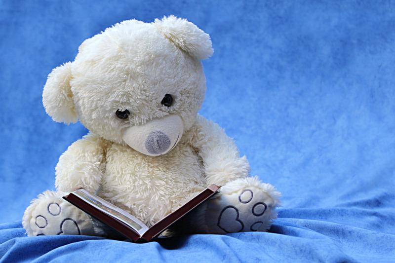 reading favorite storybook